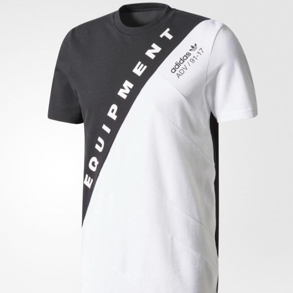 Adidas shirts hombre  Rose City SS EQT Shirt SZ L poshmark
